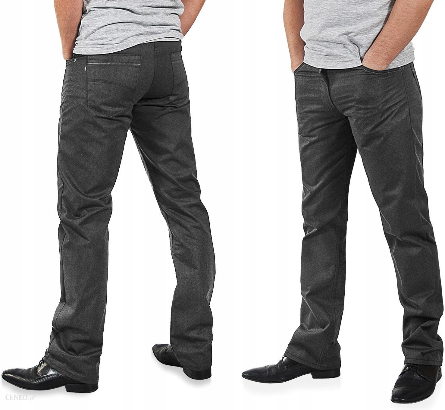 5eaf7508b Eleganckie Spodnie Męskie Wizytowe 610/4D 96 cm/30 - Ceny i opinie ...