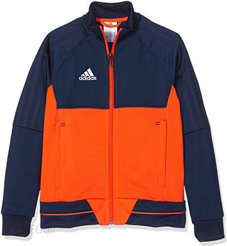 Amazon Adidas dziecięca kurtka TIRO 17 PES Training, niebieski Ceneo.pl