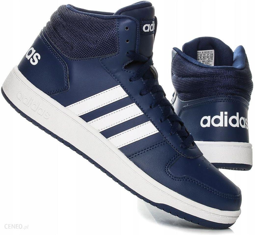 Buty męskie Adidas Hoops 2.0 MID B44663 Różne r. Ceny i opinie Ceneo.pl