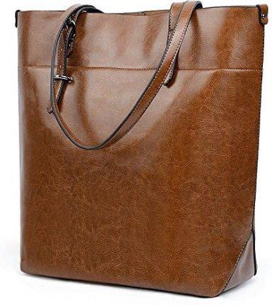 f7d50a49d30c2 Amazon uto damska torba Shopper Top Handle duże Capacity 13.3