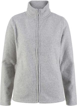 72bd61868 Podobne produkty do Nike Sportswear GYM VINTAGE Bluza z kapturem glacier  grey. Bluza rozpinana z polaru z wpuszczanymi kieszeniami Bonprix