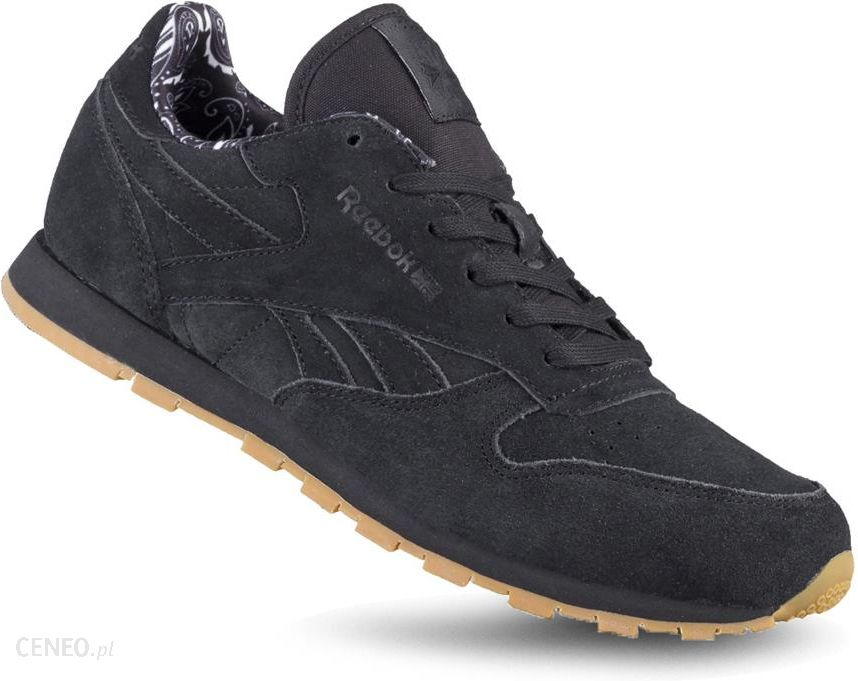 9bab03058f2ff4 Buty Reebok Classic Leather BD5049 damskie czarne - Ceny i opinie - Ceneo.pl
