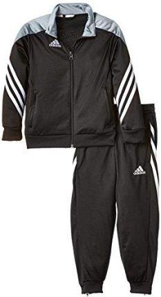 e51422c46581c3 Amazon adidas Sereno 14 F49707 strój sportowy dziecięcy: bluza czarna  (Black/Silver/