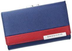 ddf1613a0dc71 Portfel damski skórzany PELLUCCI FRZ-108 Niebieski   Czerwony - niebieski    czerwony