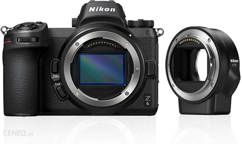 Nikon Z6 czarny body + adapter FTZ