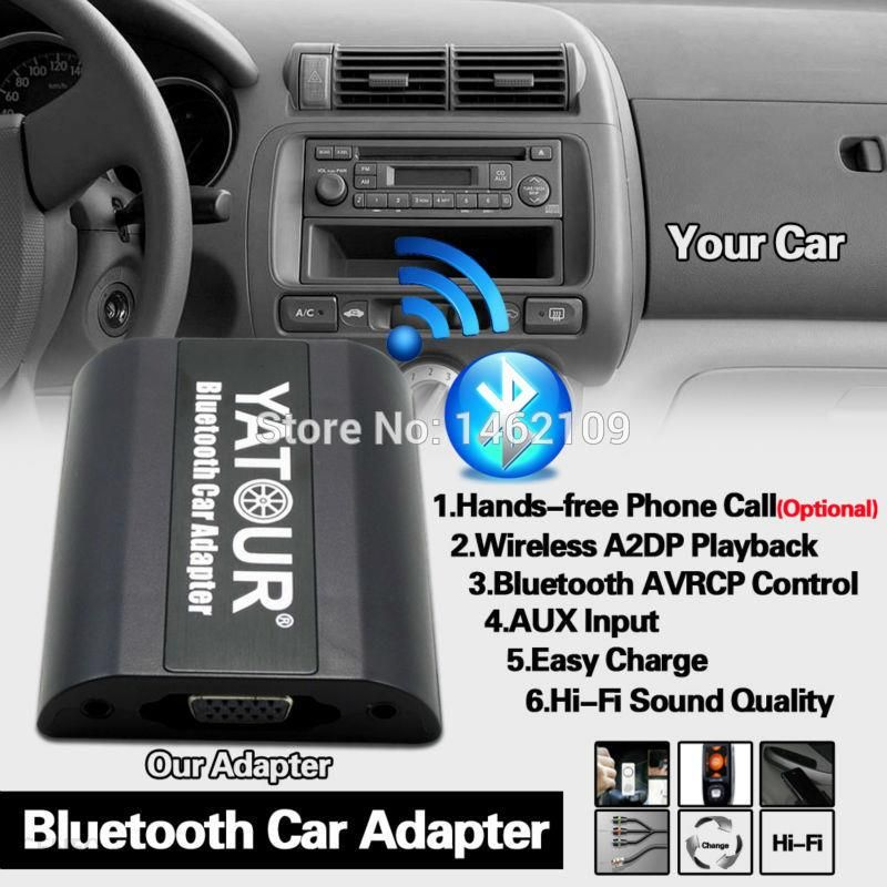 how to play radio on iphone aliexpress yatour cdc bluetooth adapter muzyki cyfrowej 6733