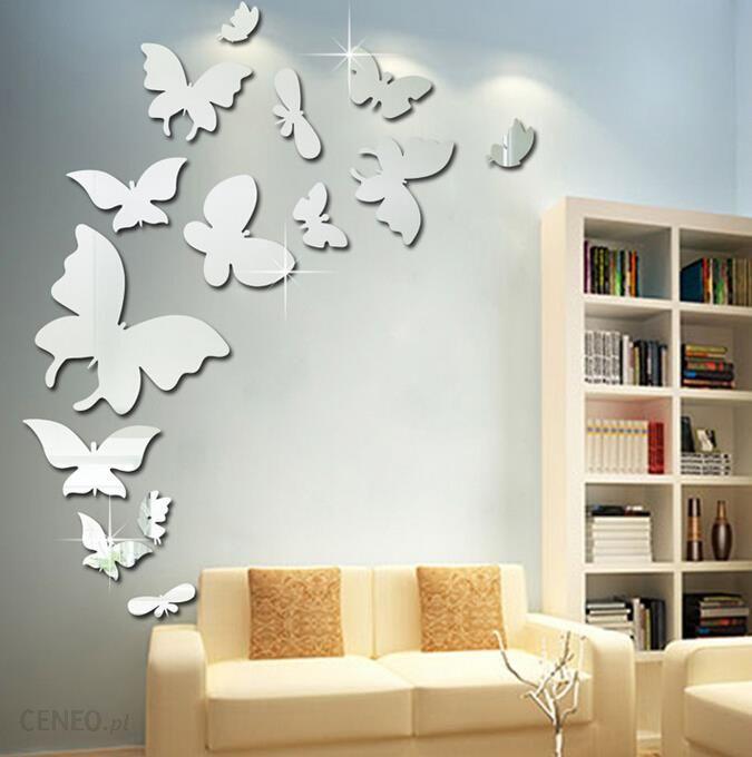 Homegadget Naklejki Na ścianę Lustrzane Motyle 3d 13szt Ms 0002 Opinie I Atrakcyjne Ceny Na Ceneopl