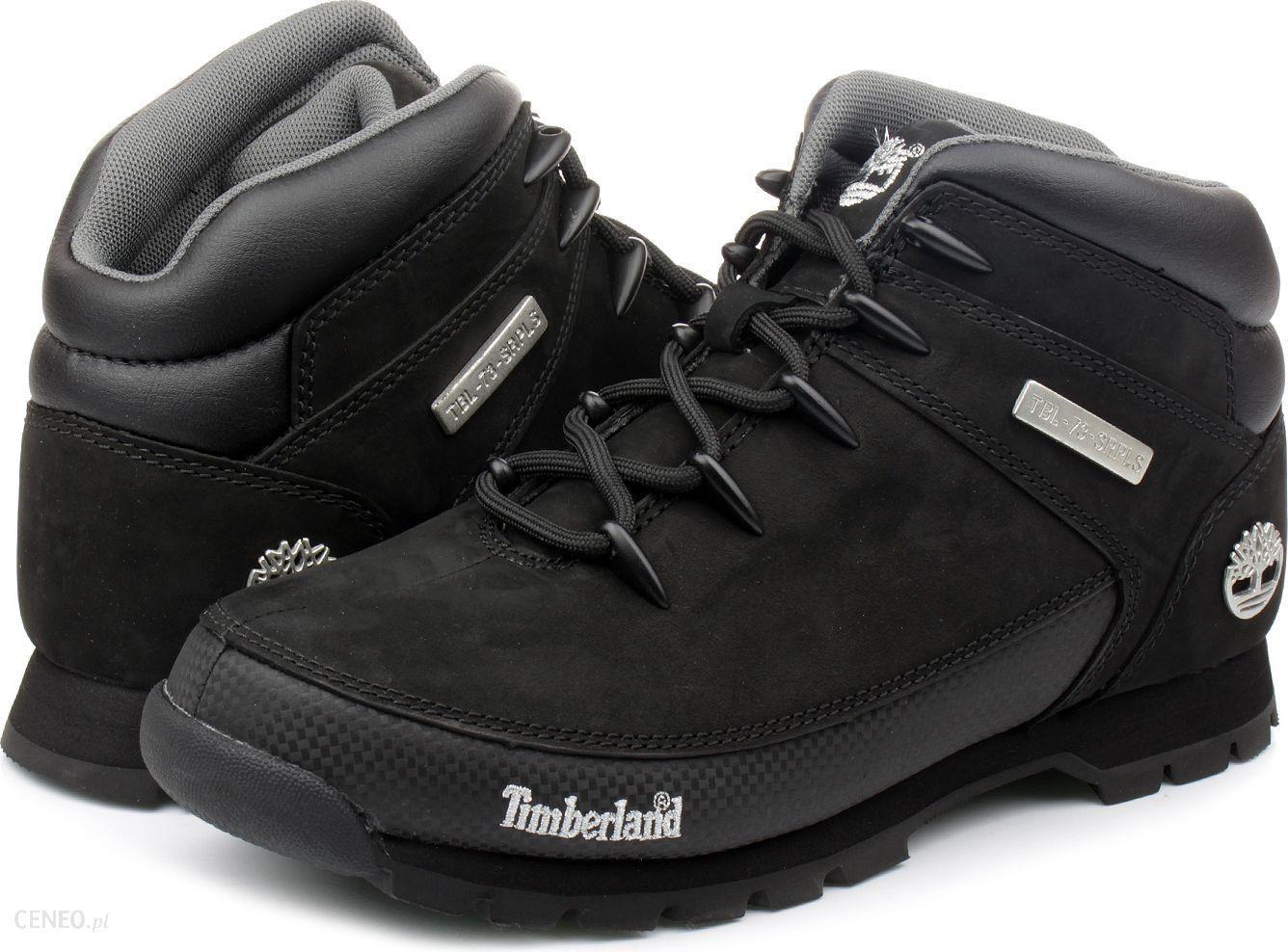 Timberland Buty męskie Euro Sprint Hiker czarne r. 46 (6361R) Ceny i opinie Ceneo.pl