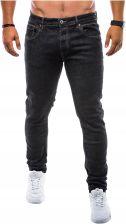9f115897c6831 Spodnie męskie jeansowe zwężane P749 czarne L - Ceny i opinie - Ceneo.pl