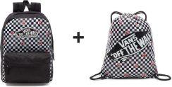 4f4efea0cf6e Vans Realm Backpack Rose Checker Vn0A3Ui6Yfk 447 + Szkolny - Ceny i ...