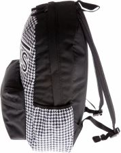 959d4bfd00728 Vans Realm Flying V Backpack Houndstooth Black/White Vn0A3Ui8Yer 006