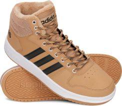 Adidas Buty męskie Hoops 2.0 Mid brązowe r. 42 (B44620) Ceny i opinie Ceneo.pl