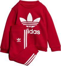 0063962ba Adidas Zestaw/Dres I Trefoil Crew Czerwony 86