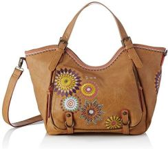af94888614e60 Amazon Desigual damska Bols_amelie Rotterdamska torba na ramię - brązowy -