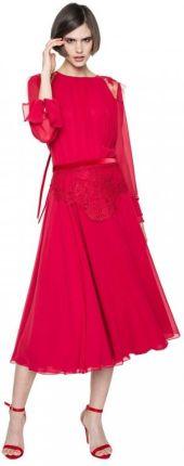 b2c4c762c4 Podobne produkty do MOE Czarna Sukienka Wieczorowa Ołówkowa Midi z Koronką.  EyeForFashion Sukienka z baskinką AK PATRIZIA