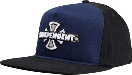 be2f7739b8a4 czapka z daszkiem INDEPENDENT - Vintage Cross Snapback Black (BLACK)