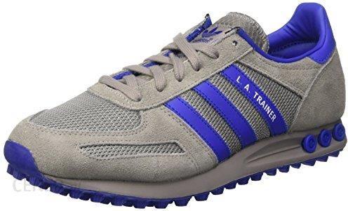 Amazon Buty sportowe Adidas La Trainer dla mężczyzn, kolor: szary, rozmiar: 42 EU Ceneo.pl