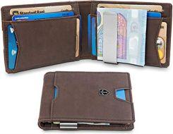 5b1dd4a1262ba Amazon TRAVANDO Portfel z klamerką BOGOTA z kieszenią na książki - 11 przegródek  na karty -