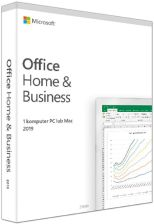 Microsoft Office Home & Business 2019 BOX (do pobrania - klucz w pudełku)