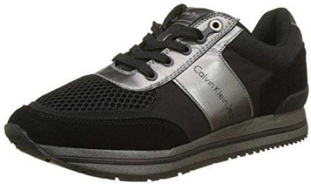 online retailer ad434 38344 Amazon Calvin Klein męskie estez SuedeNylonmetal Smooth Sneaker -  wielokolorowa - 44
