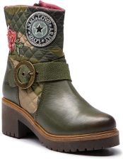07b650ffcffb4 Botki DESIGUAL - Shoes Breaker Militar 18WSTL07 6100 eobuwie