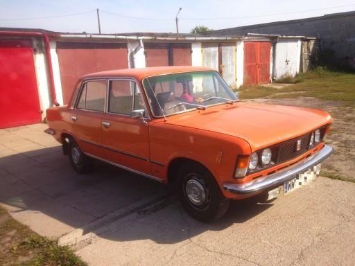 Fiat 125p 1979 Km Sedan Pomaranczowy Opinie I Ceny Na Ceneo Pl