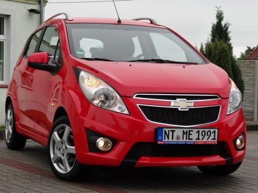 Chevrolet Spark 2010 Km Hatchback Czerwony Opinie I Ceny Na Ceneo