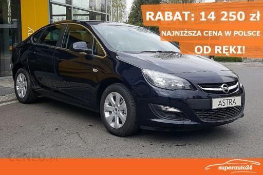 Opel Astra J 2018 Km Sedan Niebieski Opinie I Ceny Na Ceneo Pl