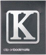 Metalowa Zakładka Litera K Clip On Ceny I Opinie Ceneopl