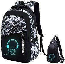 d9c7e717040a1 Amazon JUND Oxford plecak szkolny dla chłopców, plecak szkolny, plecak dla  młodzieży, torba