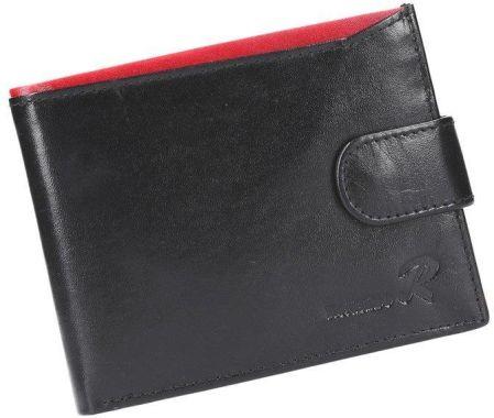db4e7111a0f06 Portfel męski skórzany PELLUCCI N992L-VT RFID Czarny   Czerwony - czarny    czerwony