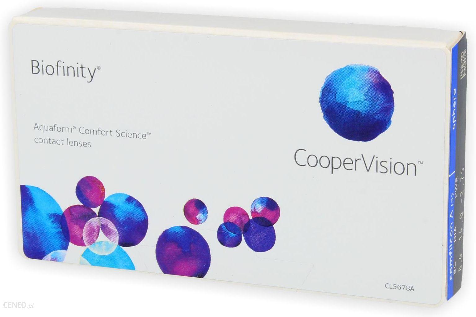 Cooper Vision Biofinity 6 szt