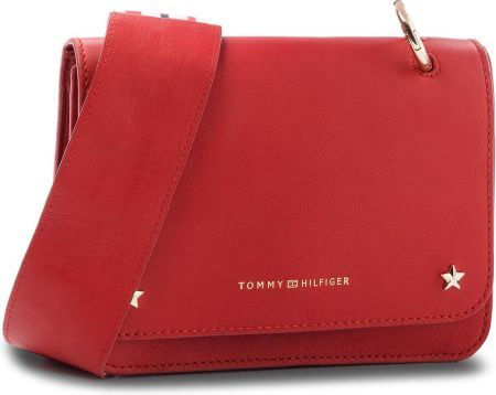 1734aa6282615 Torebka TOMMY HILFIGER - Th Twist Leather Saddle Bag AW0AW04254 614 ...