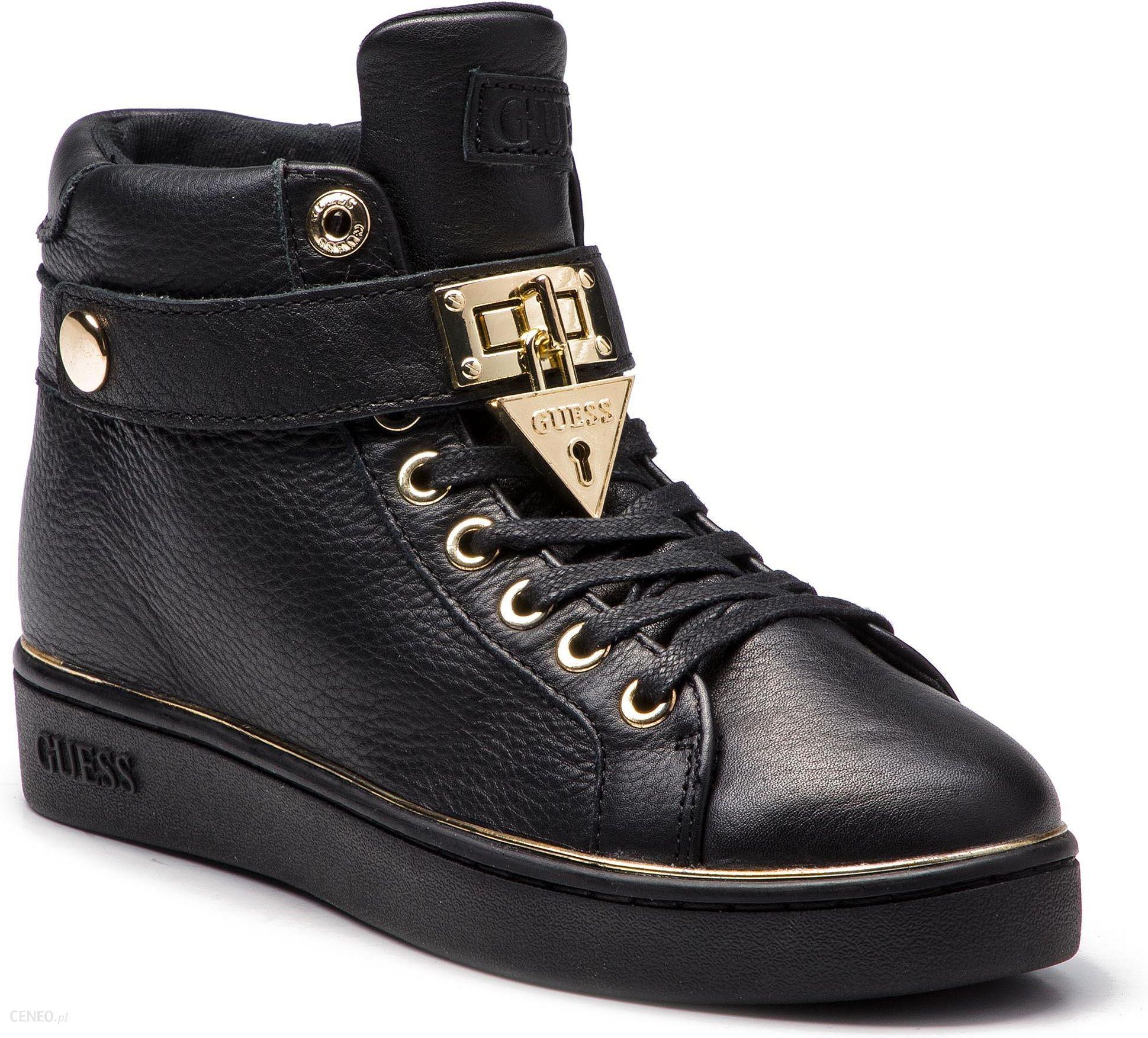 d1067cba167ea Sneakersy GUESS - FLBOG4 LEA12 BLACK - Ceny i opinie - Ceneo.pl