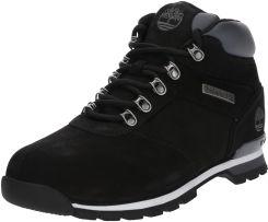 Buty zimowe męskie czarne Timberland sznurowane na zimę