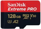 SanDisk microSDXC 128GB Extreme PRO V30 Class 10 (SDSQXCY128GGN6MA)