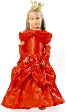 0520a81a4f3a22 Strój Księżniczka Bella czerw. dla dzieci 122/128