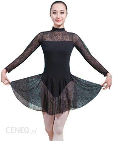 00757425 Amazon zkoo dziewczęcy strój do, suknia baletowa trykot sukienka z baletowe  szyfon spódnica, kolor: czarny , rozmiar: xxl - Ceny i opinie - ...