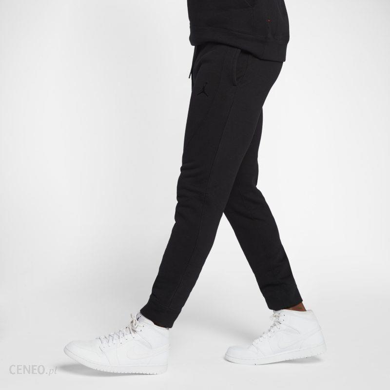 Męskie spodnie z dzianiny Jordan Sportswear Wings Czerń Ceny i opinie Ceneo.pl