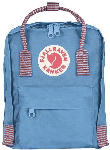 c68424a4e86e2 Plecak Fjallraven Kanken Mini Plecak Air Bluestriped 508911 - Ceny i ...