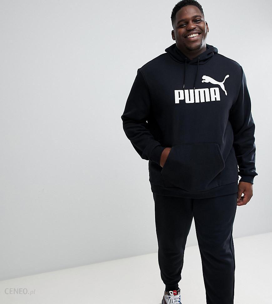 ff83ddf2 Puma PLUS Essentials pullover hoodie in black 85174301 - Black - zdjęcie 1