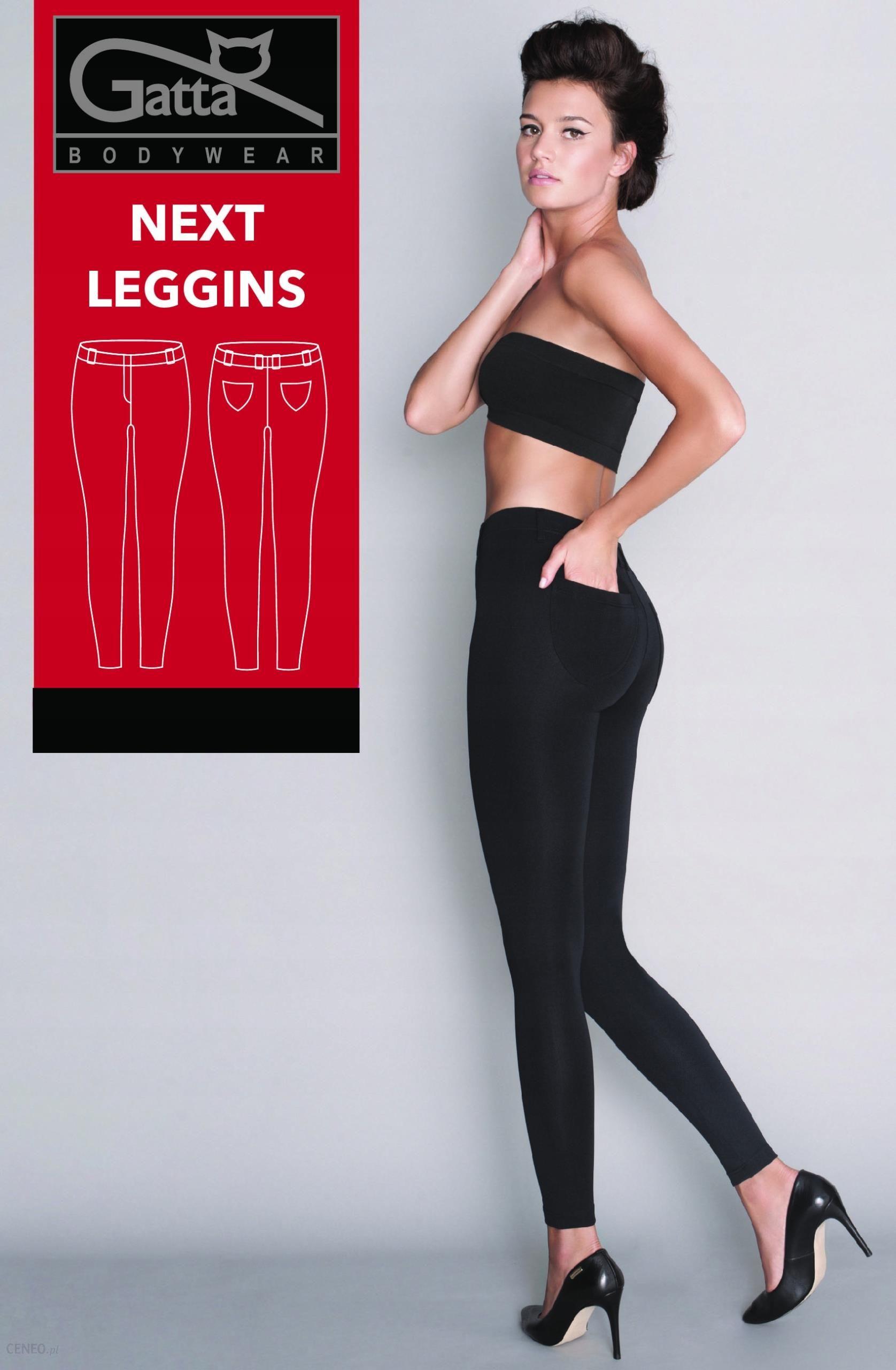 bd7b5c88426f8b Gatta Spodnie legginsy Next czarne # S - Ceny i opinie - Ceneo.pl