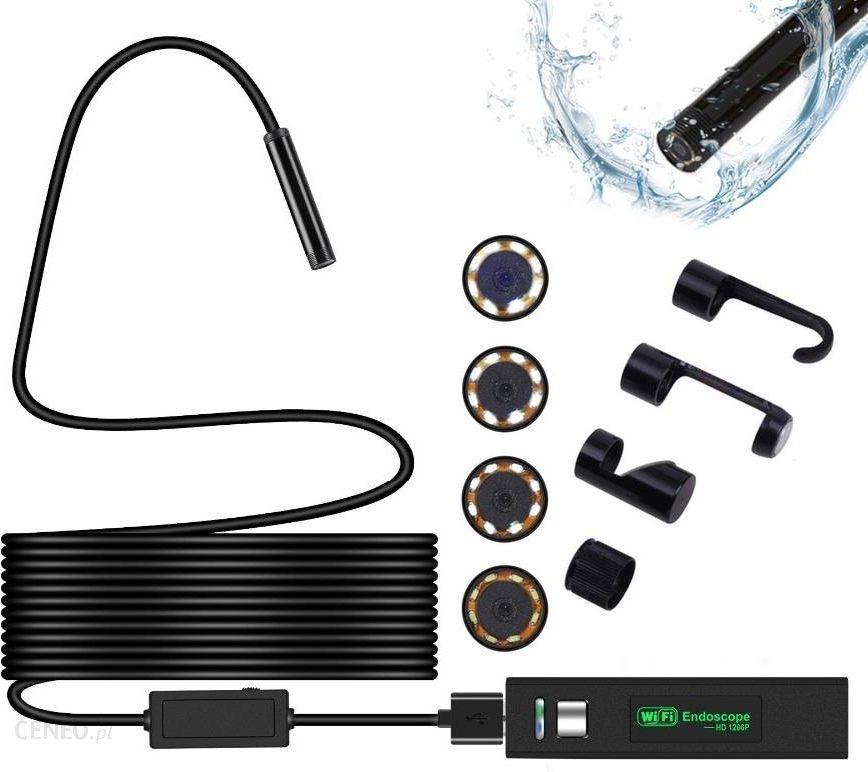 Xrec Endoskop / Kamera Inspekcyjna / Wi-Fi Usb 1200P 8Mm - 10 Metrów (Sb4405)