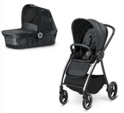 Cybex Gb Maris 2 Plus Lux Black Głęboko Spacerowy