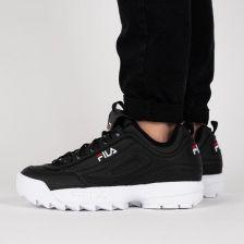ee3d5e27 Buty męskie sneakersy Fila Disruptor Low 1010262 25Y - CZARNY - Ceny ...