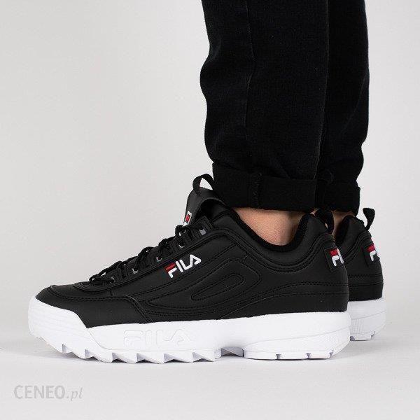 Buty męskie sneakersy Fila Disruptor Low 1010262 25Y CZARNY Ceny i opinie Ceneo.pl