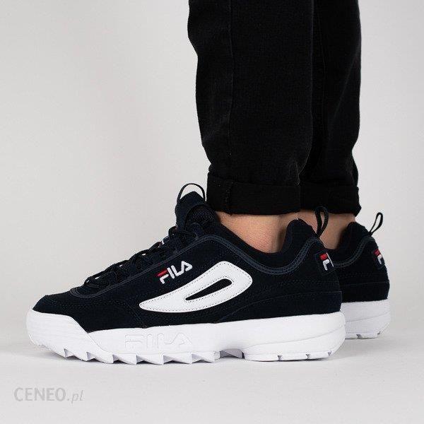 Buty męskie sneakersy Fila Disruptor Low 1010490 29Y GRANATOWY Ceny i opinie Ceneo.pl