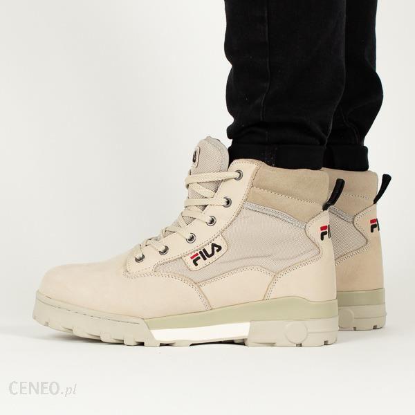 Buty męskie sneakersy Fila Grunge Mid 1010107 00J SZARY Ceny i opinie Ceneo.pl