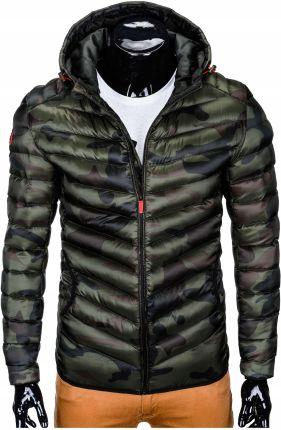 37238fbf89e56 Ombre Clothing KURTKA MĘSKA ZIMOWA C360 - KHAKI - khaki - Ceny i ...