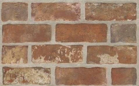 Paradyż Loft Brown str Brick 25X40